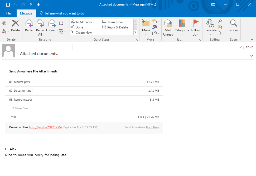 how to change attachment settings in outlook 2016